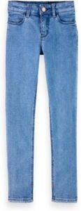 Jeanshose LA CHARMANTE  blau Gr. 128 Mädchen Kinder