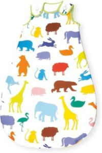 Sommer-Schlafsack 'Happy Zoo, 90 cm