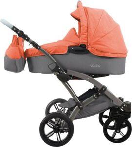 Kombi Kinderwagen Voletto Happy Colour, grau-orange grau/orange