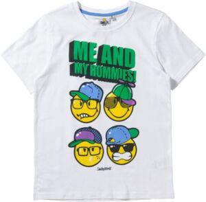 SMILEY WORLD WORLD T-Shirt  weiß Gr. 116 Jungen Kleinkinder