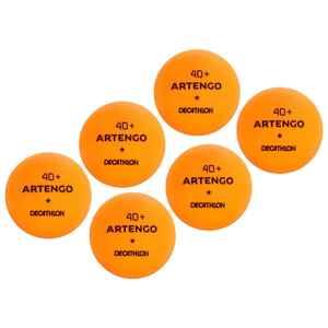 Tischtennisbälle TTB100 1* 40+ 6Stück