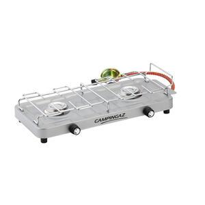 Campingkocher 2-flammig 100S CG Set mit Druckminderer und Schlauch