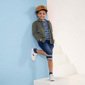 Kinder-Jungen-Bermudas in Jeans-Optik