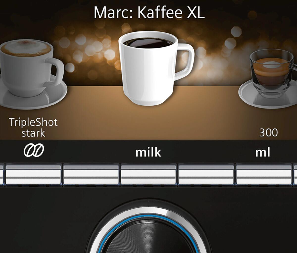 Bild 4 von EQ.9 plus connect s500 TI9558X1DE Edelstahl Kaffeevollautomat
