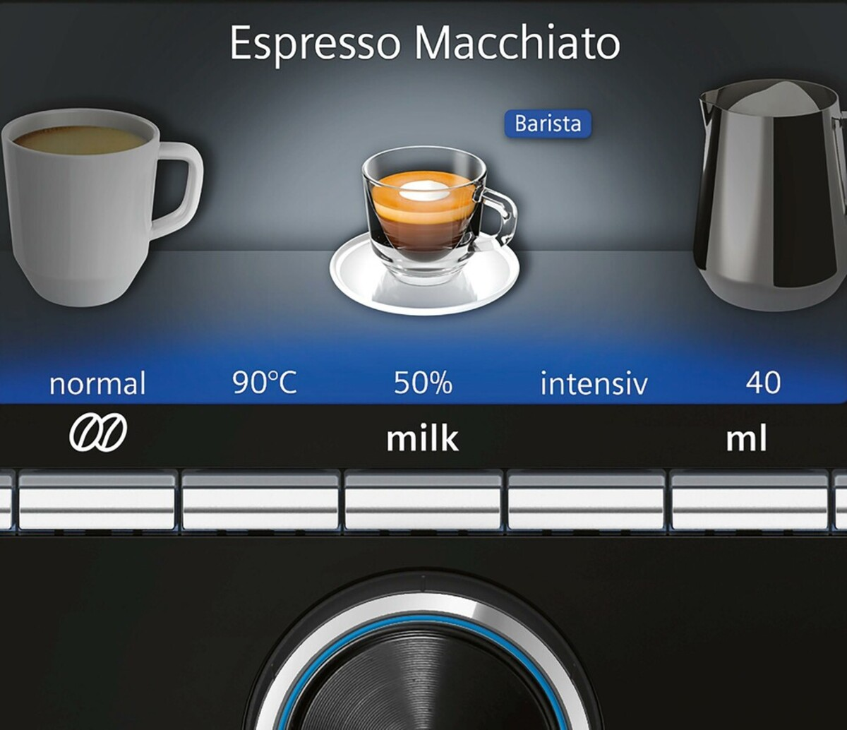 Bild 5 von EQ.9 plus connect s500 TI9558X1DE Edelstahl Kaffeevollautomat