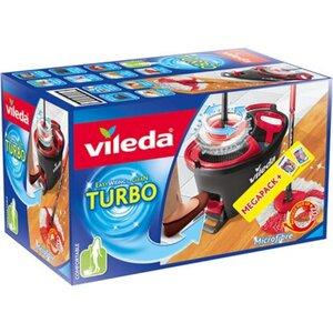 Vileda Wischmopp-Set Turbo mit Powerschleuder