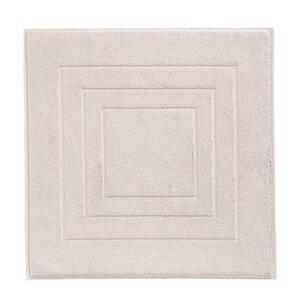 Vossen BADEMATTE Hellgrau 60/60 cm , 8111/1200 , Textil , Uni , 60x60 cm , Frottee , für Fußbodenheizung geeignet, rutschhemmend , 003355046508