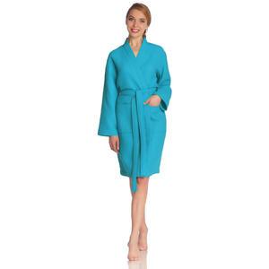 Vossen Bademantel blau , 5016 Rom , Textil , Frottee , 003355013801
