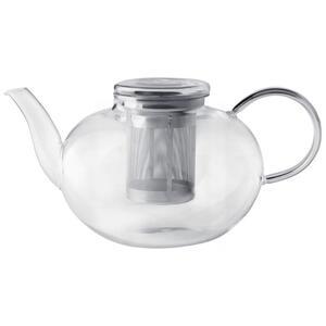 Leonardo Teekannenset , 030527 , Klar , Metall, Glas , 2 L , 0038131053