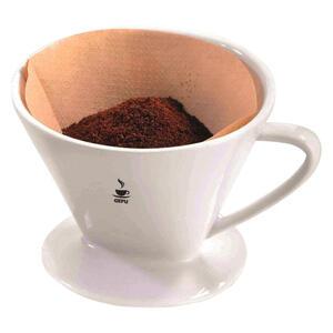 Gefu Kaffeefilterhalter , 16020 , Weiß , Keramik , 14 cm , 0054300171