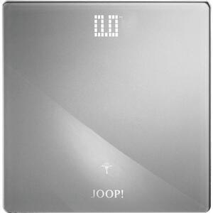 Joop! Personenwaage , 010891316 Joop! Lifestyle , Silberfarben , Metall, Glas , 32x2.5x32 cm , farbig , LCD-Display , 007645007302