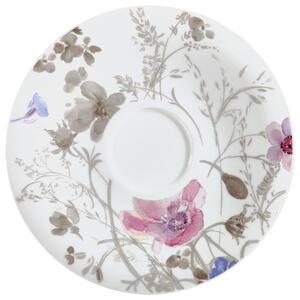 Villeroy & Boch Untertasse , 1041041250 , Multicolor , Keramik , Blume , 003407020403
