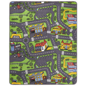 Boxxx Spielteppich 100/165 cm multicolor , City 710 , Textil , Objekte , 100x165 cm , 005736000157