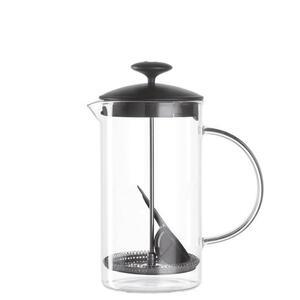 Leonardo Kaffeebereiter 1 l , 025507 , Klar, Schwarz , Glas , 14x22.5x11.5 cm , 003813022901