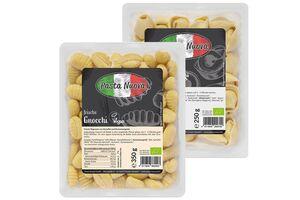Frische Pasta, verschiedene Sorten