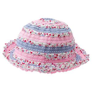 Mädchen Hut mit Blümchen-Print