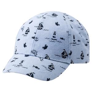 Baby Kappe mit maritimen Motiven