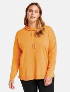 Pullover im sportiven Design Gelb 44/L