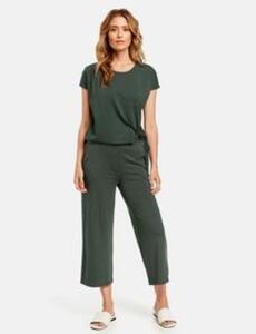 Hose aus Jersey Grün 46/L