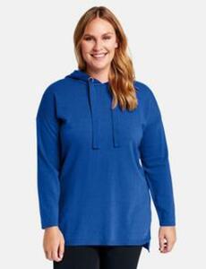 Pullover mit Kapuze Blau 52/XXL