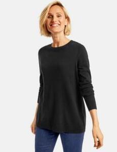 Pullover mit Wolle Schwarz 42/M