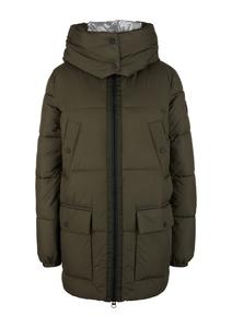 Damen Oversized Puffer Coat mit Kapuze