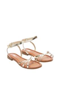 Damen Riemchen-Sandalen aus Leder