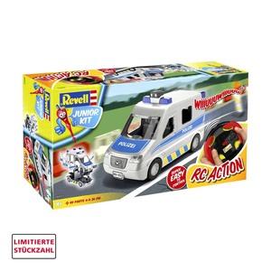 RC/ Junior-Kit Polizeiwagen oder Müllwagen ab 4 Jahren