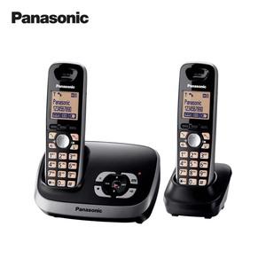 Schnurlos-DECT-Telefon KX-TG6522 Duo • Telefonbuch für 100 Einträge • Standardakkus • digitaler Anrufbeantworter