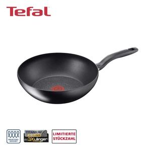 """Serie """"Hard Titanium Plus"""" • TEFAL-TITANIUM-EXC, Wokpfanne • ca. 28 cm Ø"""