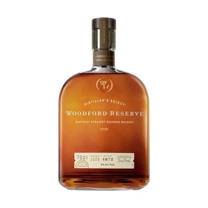 Woodford Kentucky Straight Bourbon Whiskey 43,2 % Vol., jede 0,7-l-Flasche