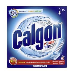 Calgon Wasserenthärter Pulver 2,5 kg, Tabs 75er oder Gel 3,75 Liter, jede Flasche/Packung