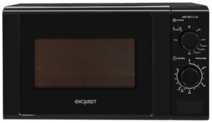 Exquisit Mikrowelle MW 802 Schwarz