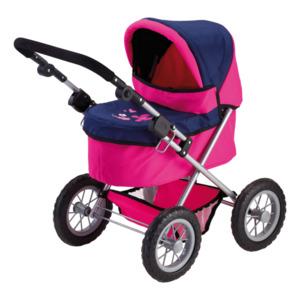 Bayer Puppenwagen Trendy pink/blau