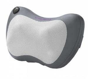 VITALmaxx Shiatsu-Massagekissen mit Heizfunktion 12V grau/anthrazit