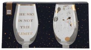 HEMA 2er-Pack Gläser, Astronauten