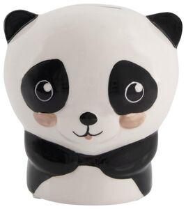 HEMA Spardose Panda, 12 X 11 X 9 Cm, Keramik