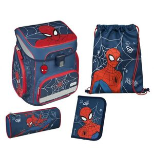 Scooli Schulranzen Set - Spiderman - 5-teilig