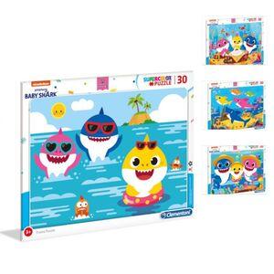 Baby Shark - Rahmenpuzzle - 30 Teile - 1 Stück