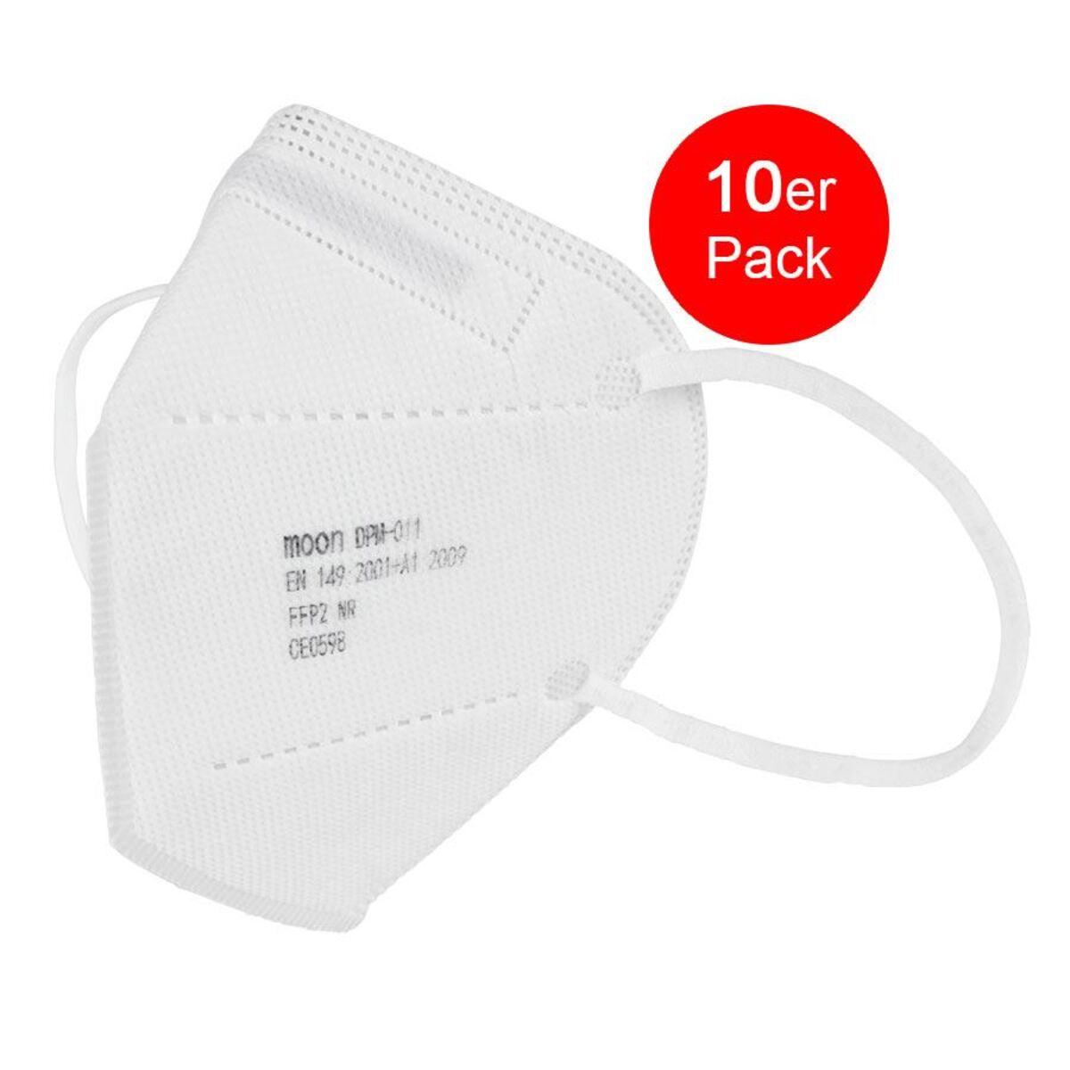 Bild 1 von Einweg Atemschutzmaske FFP2 10 Stück