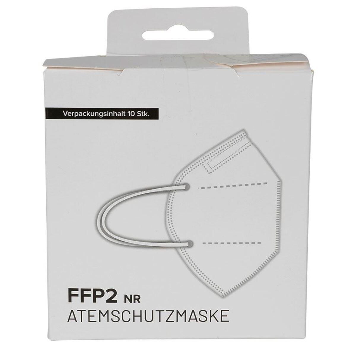 Bild 2 von Einweg Atemschutzmaske FFP2 10 Stück