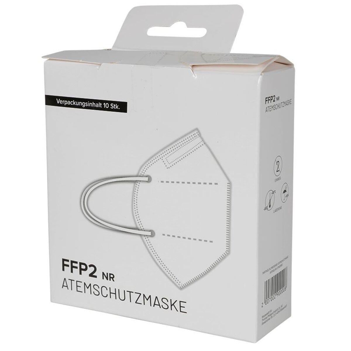Bild 3 von Einweg Atemschutzmaske FFP2 10 Stück