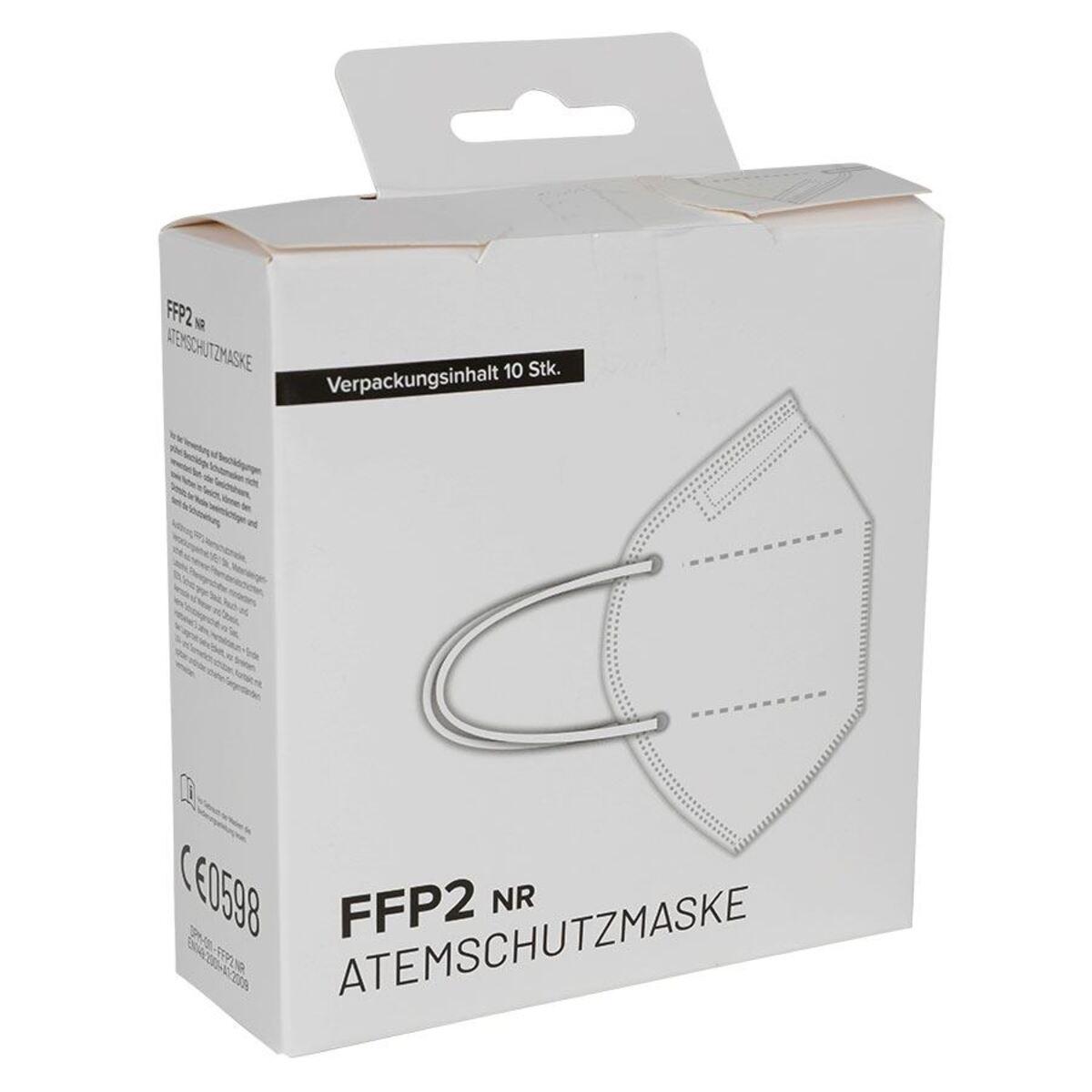 Bild 4 von Einweg Atemschutzmaske FFP2 10 Stück