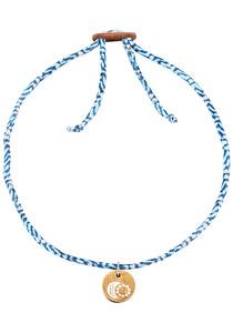 float Choker Moon & Sun - Halskette für Damen - Blau