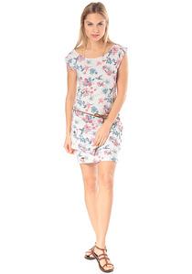 ragwear Tag Flowers - Kleid für Damen - Grau