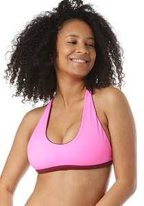 Zealous Signature Surf - Bikini Oberteil für Damen - Pink