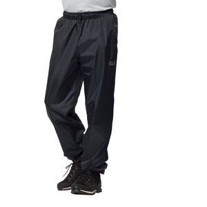 Jack Wolfskin Rainy Day Pants Regenhose Männer und Frauen M schwarz black