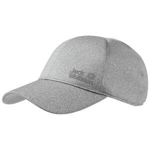 Jack Wolfskin Solution Cap Basecap one size grau light grey