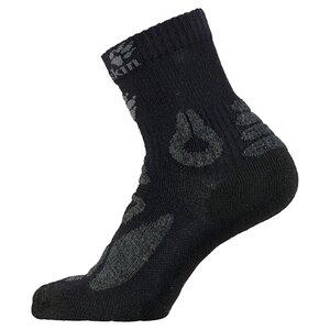 Jack Wolfskin Hiking Merino Classic Cut Kids Kinder Socken 28-30 schwarz black