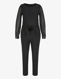 Bexleys woman - Jersey-Jumpsuit mit Chiffon-Ärmeln